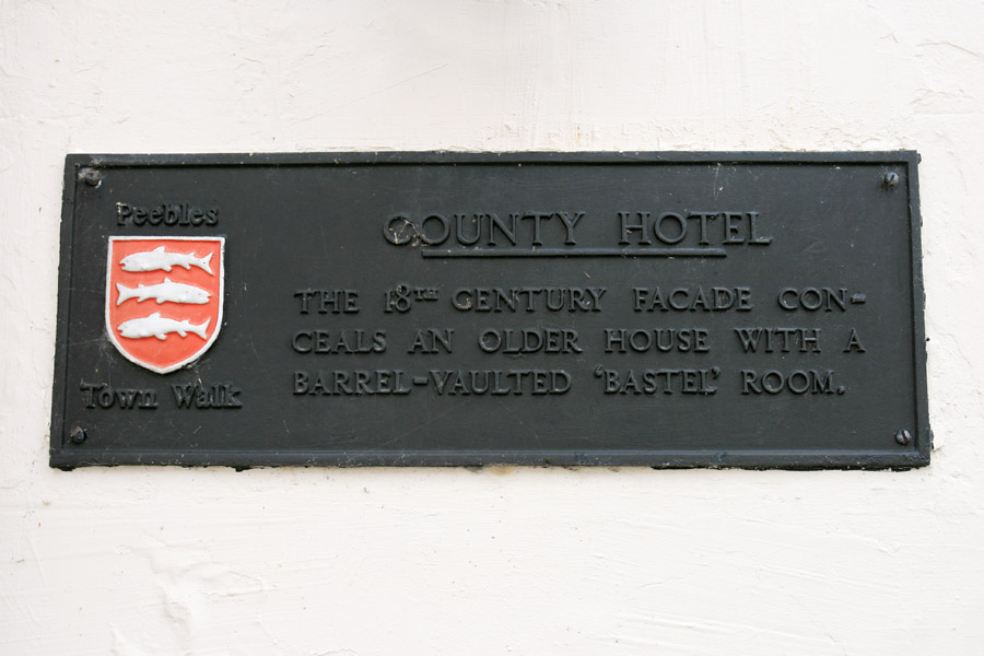 County Inn bastle