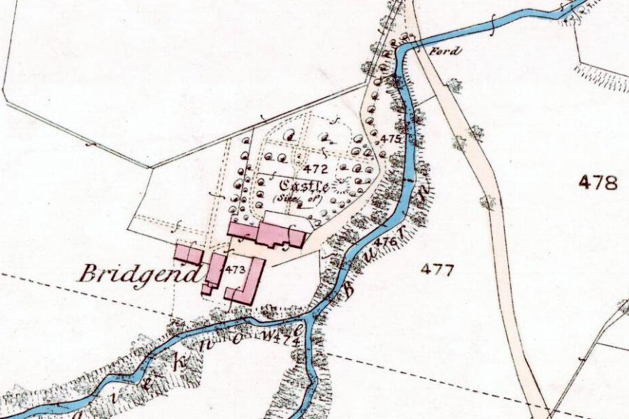 OLD ORDNANCE SURVEY DETAILED MAP SCOTLAND GREENOCK EAST  1896 S2.06