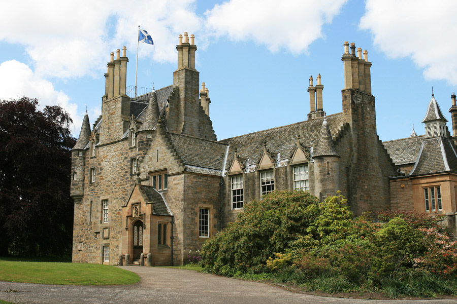 16th Century Mansion of 16th Century Castle And