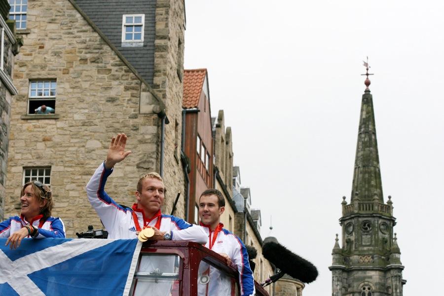 Scotland's Olympic medal-winners in Edinburgh