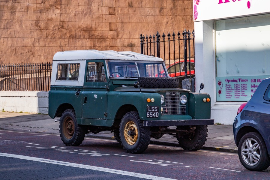 1966 Land Rover Series IIA 88
