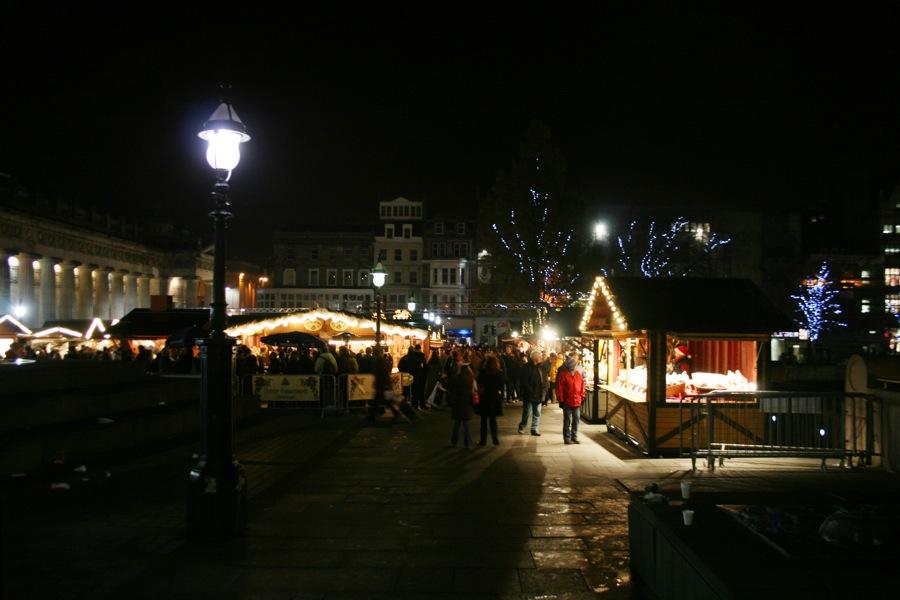 Christmas market on Princes Street
