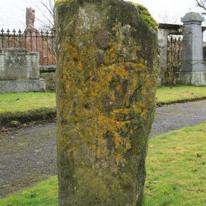 Dingwall Churchyard symbol stone, Ross and Cromarty