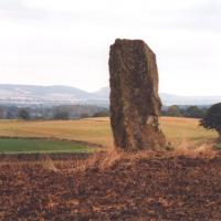 Airlie standing stone, Angus