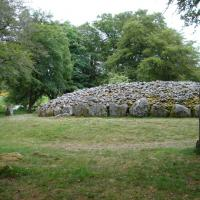 Balnuaran Of Clava, North East cairn, Inverness shire