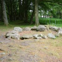 Balnuaran of Clava kerb cairn, Inverness shire