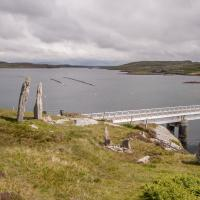 Bernera Bridge standing stones, Ross and Cromarty