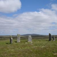 Ceann Hulavig stone circle, Ross and Cromarty