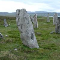 Cnoc Fillibhir Bheag stone circle, Ross and Cromarty