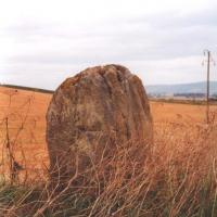 Drumend standing stone, Perthshire