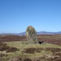 Dunruchan D standing stone, Perthshire