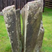 Faskally Cottages stone circle, Perthshire
