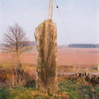 High Keillor standing stone, Perthshire