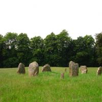 Kinnell stone circle, Perthshire