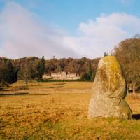 Lawers standing stone, Perthshire