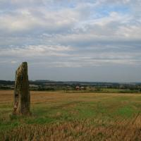 Pencraig Hill standing stone, East Lothian
