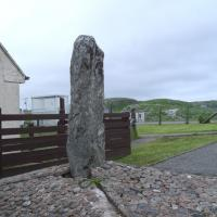 Stonefield standing stone, Ross and Cromarty