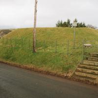 Coulter motte, Lanarkshire