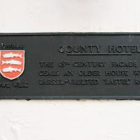 County Hotel bastle, Pebblesshire