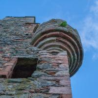 Greenknowe Tower, Berwickshire