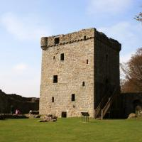 Lochleven Castle, Kinross shire