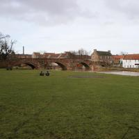 Old Nungate Bridge over the River Tyne, Haddington