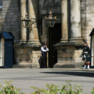 Presentation of Colours to The Royal Regiment of Scotland
