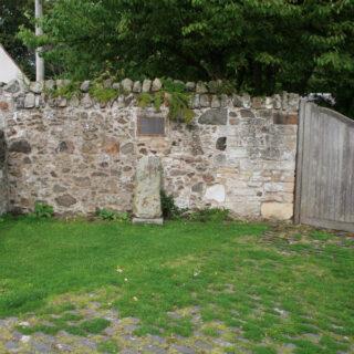 Standing stones in Edinburgh