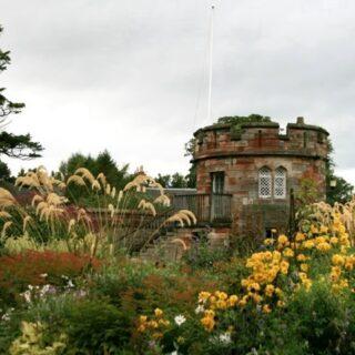 Dirleton Castle in East Lothian