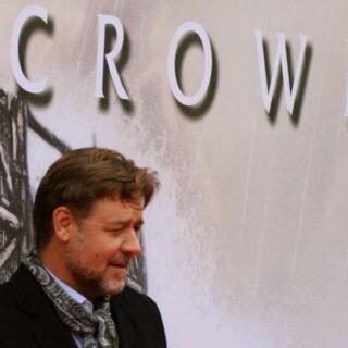 Russell Crowe at the Noah premiere in Edinburgh