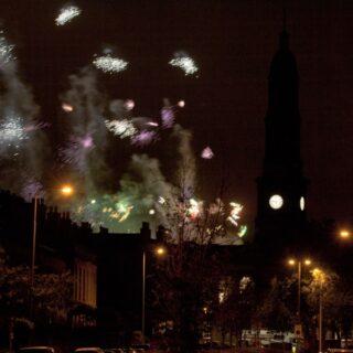 End of Festival fireworks 2013