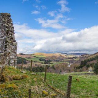 Tweed Valley walks and Elibank Castle